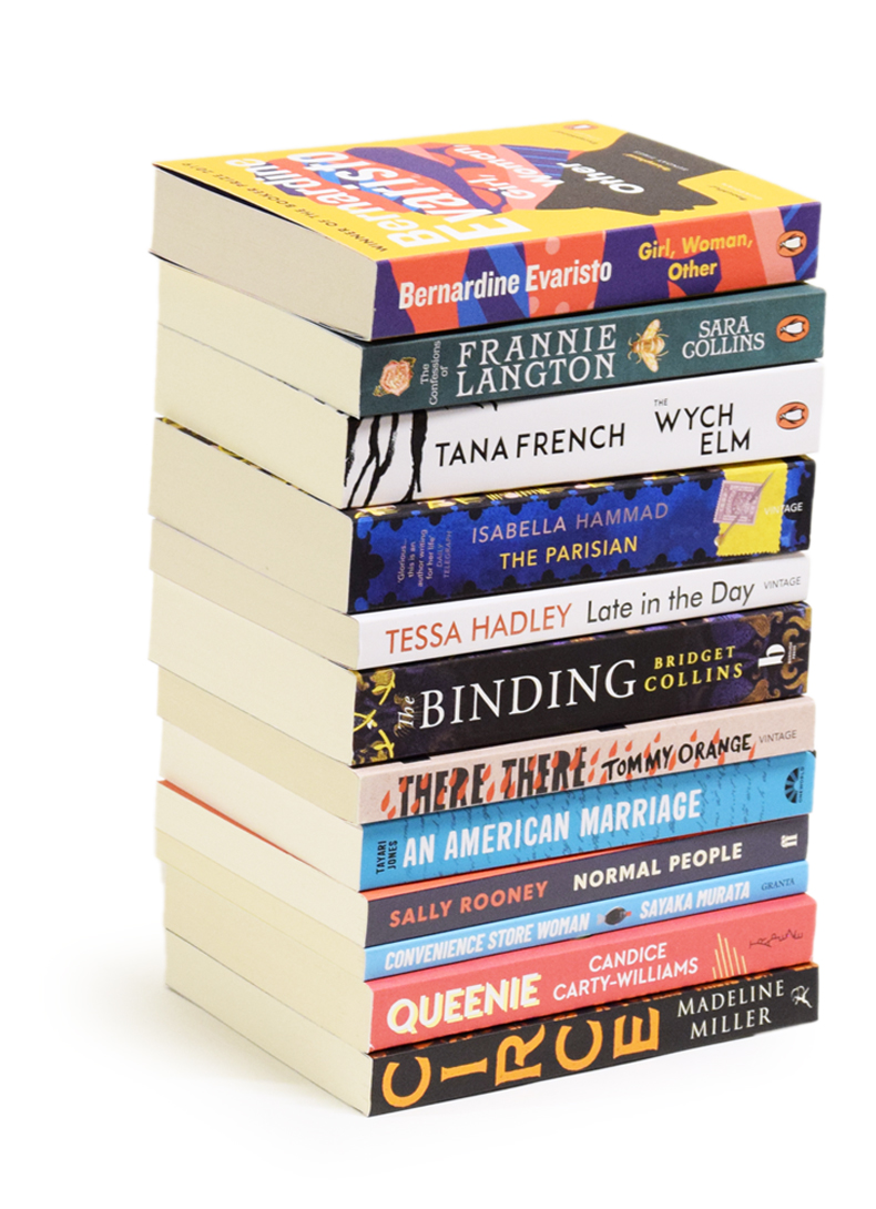 Paperback Fiction - A Year of Books Subscription