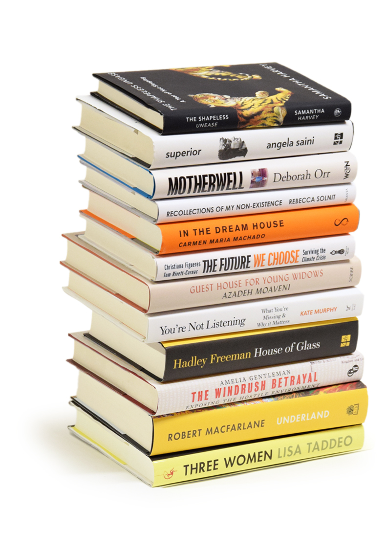 Hardback Non Fiction - A Year of Books Subscription