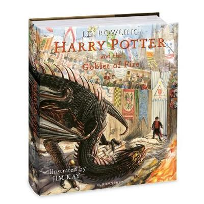 Signed First Edition - Harry Potter and the Goblet of Fire: Illustrated Edition