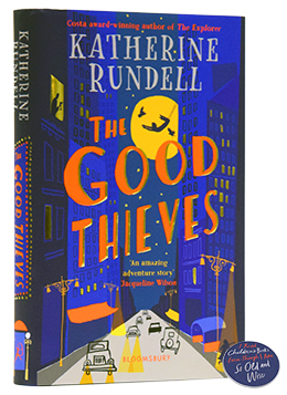 Signed First Edition: The Good Thieves - with exclusive pin badge