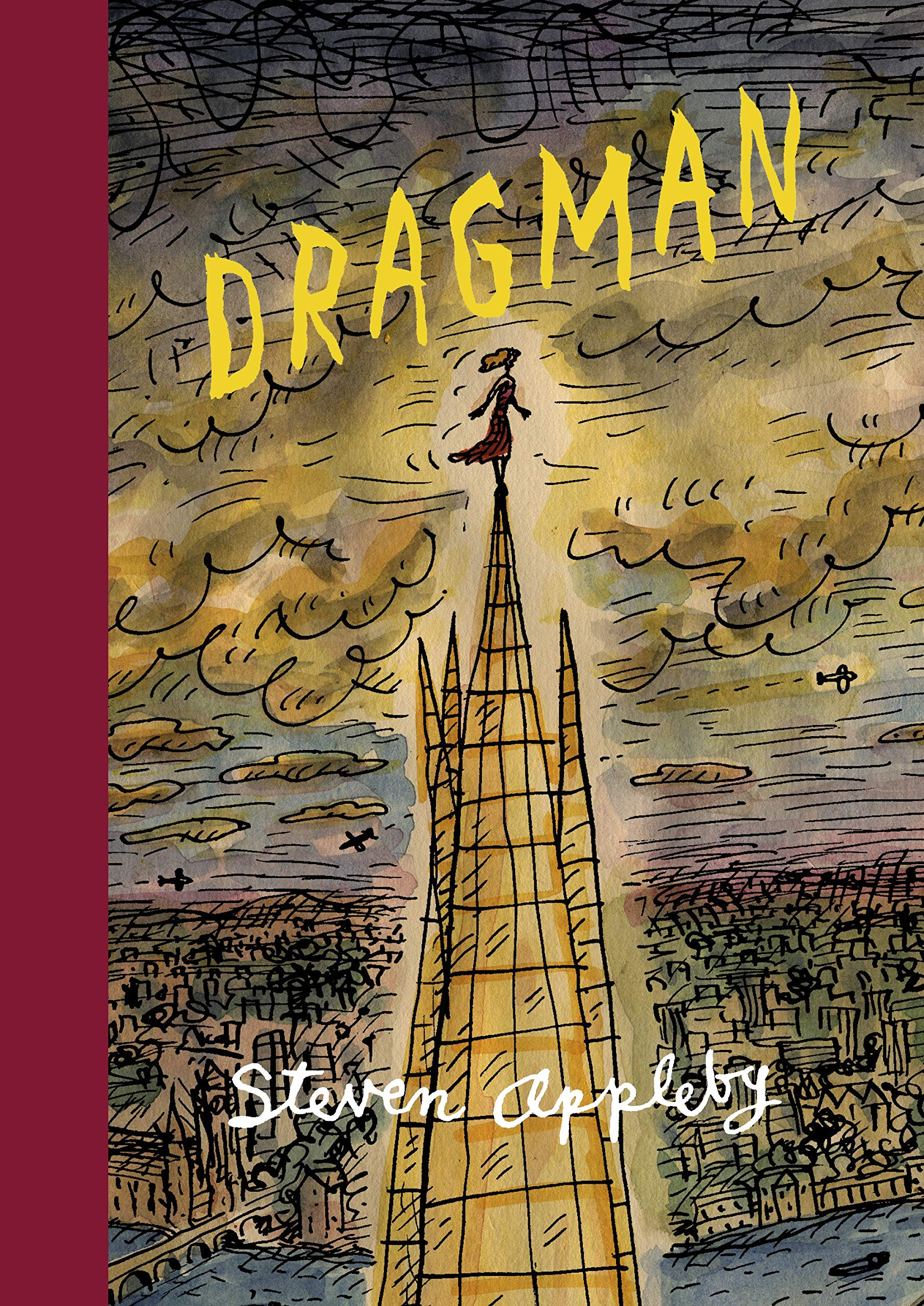 Signed First Edition - Dragman