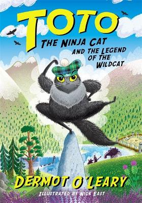 Signed Edition - Toto the Ninja Cat and the Legend of the Wildcat: Book 5