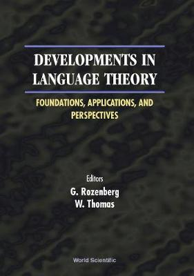 Developments In Language Theory: Foundations, Applications, And Perspectives - Proceedings Of The 4th International Conference