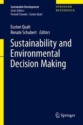 Sustainability and Environmental Decision Making