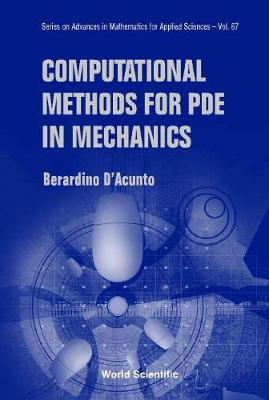 Computational Methods For Pde In Mechanics (With Cd-rom)