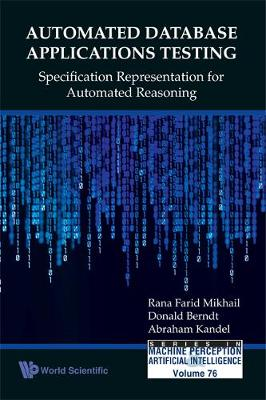 Automated Database Applications Testing: Specification Representation For Automated Reasoning