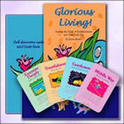 Glorious Living Self-Discovery Cards and Guide Set